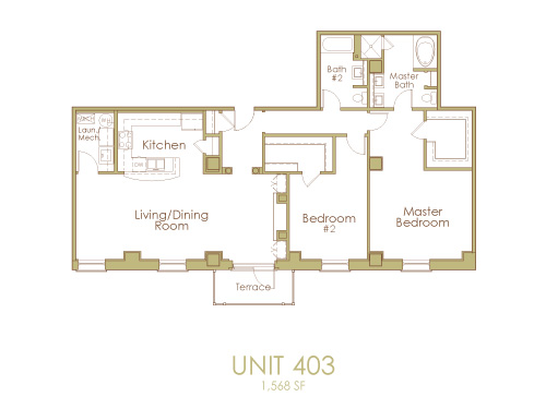 Ginter Place Condos -- Unit 403