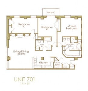 Ginter Place Condos -- Unit 701
