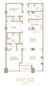 Ginter Place Condos -- Unit 103